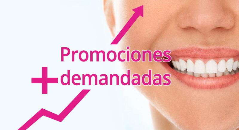 Precios tratamientos dentales más demandados y características: algunas de nuestras promociones.